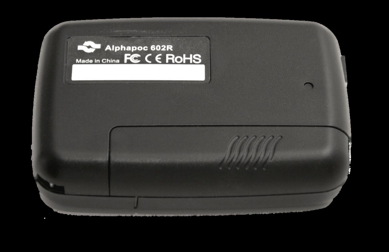 Rückansicht Pager Alphapoc 602R X4 Dapnet Meldeempfänger