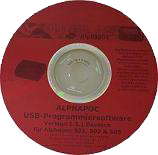 Alphapoc 601 - USB Software UPDATE Version 3.5 DE
