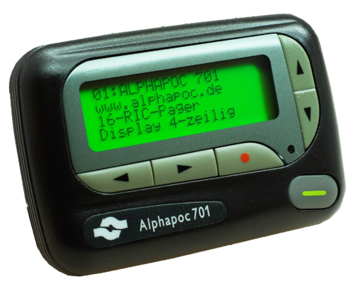 Alphapoc pager 701 SF