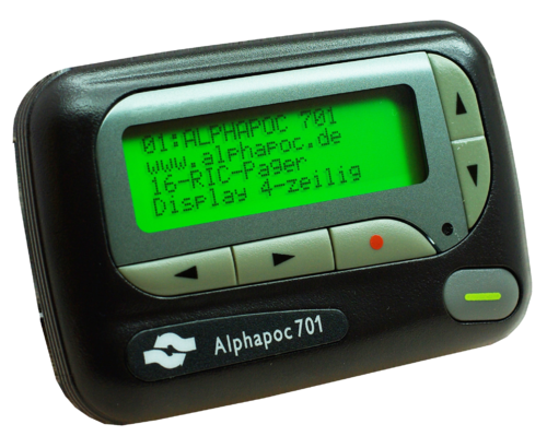 Alphapoc pager 701 DF