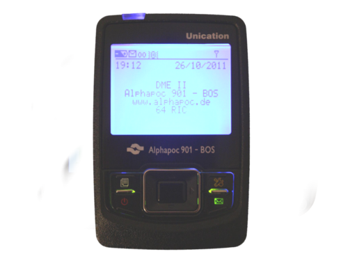 Alphapoc pager 901 BOS SF