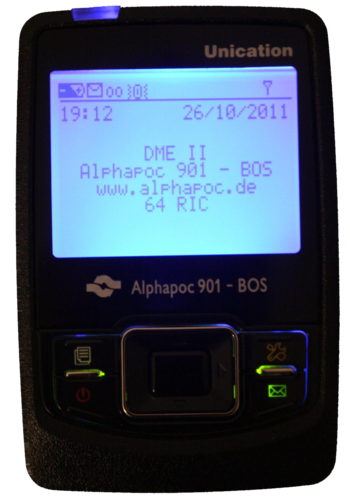 Alphapoc 901 BOS DF pager