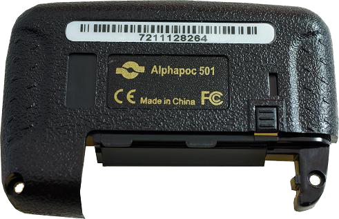 Alphapoc 501 backside cover