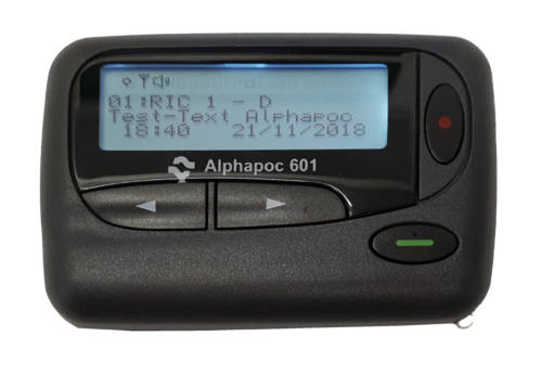 Alphapoc pager 601